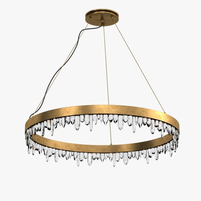 3ds max lamp light naicca suspension