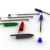 3ds max ballpoint pen