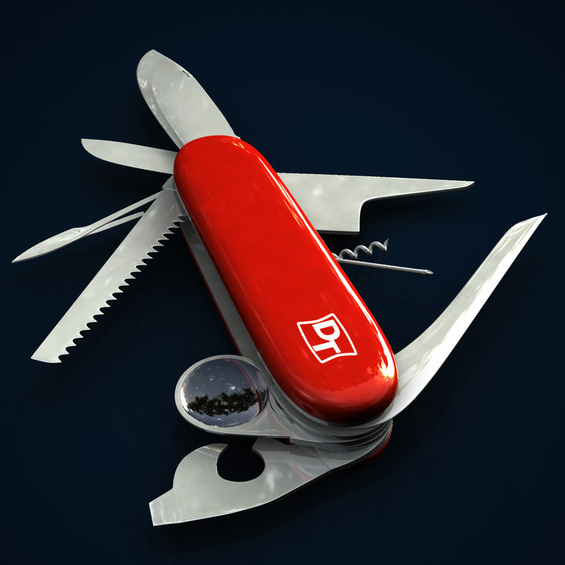 x swiss army knife