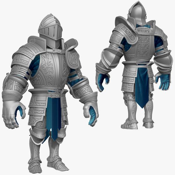 sculpt knight k3 series 3d model