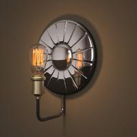circa 1910 filament sconce 3d model
