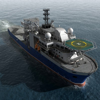 3d model multipurpose vessel