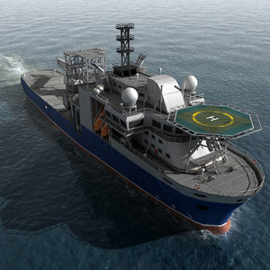 3d model multipurpose vessel