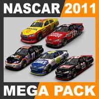 3ds nascar 2011 cars -