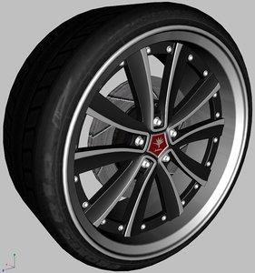 3d weds kranze chrishna wheel