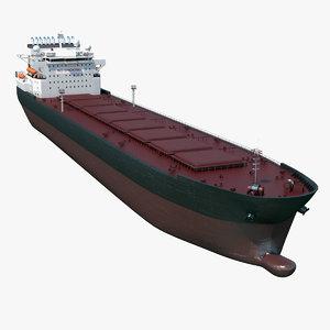 3d oil tanker model