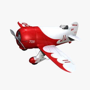 purchase gee bee r1 3d model