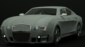 3d concept luxury sports