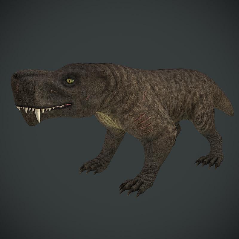 inostrancevia extinct predators max