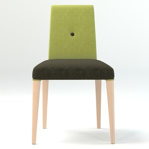 chair cafe wool 3d max