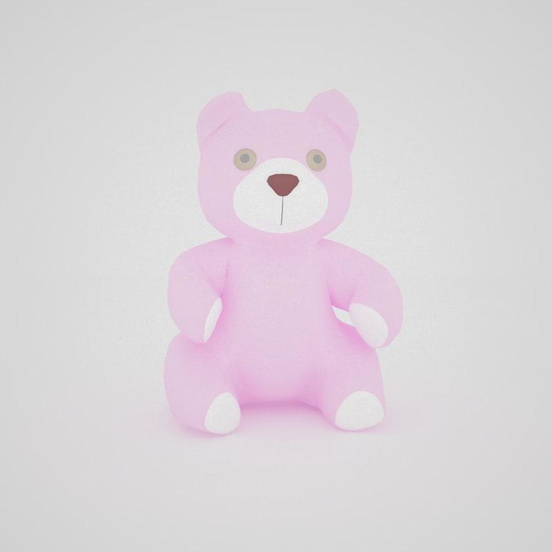 3d model bear 2