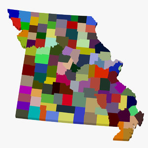 3ds max counties missouri