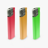 lighter 3d obj