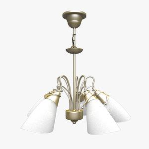 3d model of modern lamp