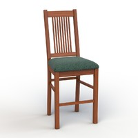 3d vermont tall chair