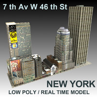 3d model new york city ave
