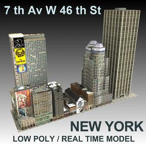 3d model new york city ave