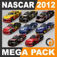 3d nascar 2012 packed model