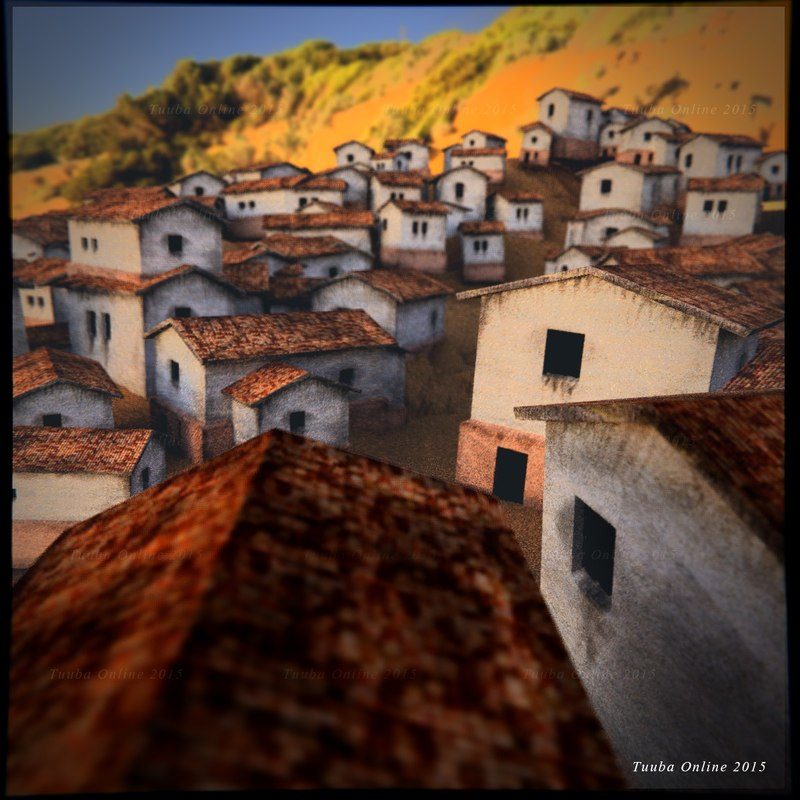 old roman houses 3ds