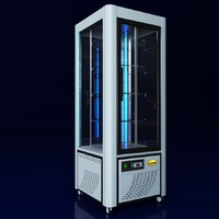 3d refrigerator scaiola linea led model
