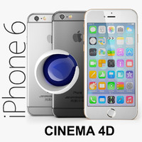 Apple iPhone 6 CINEMA4D