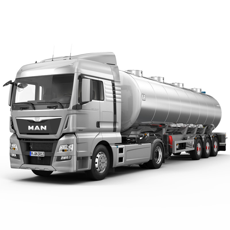 3d model man tgx xlx fuel