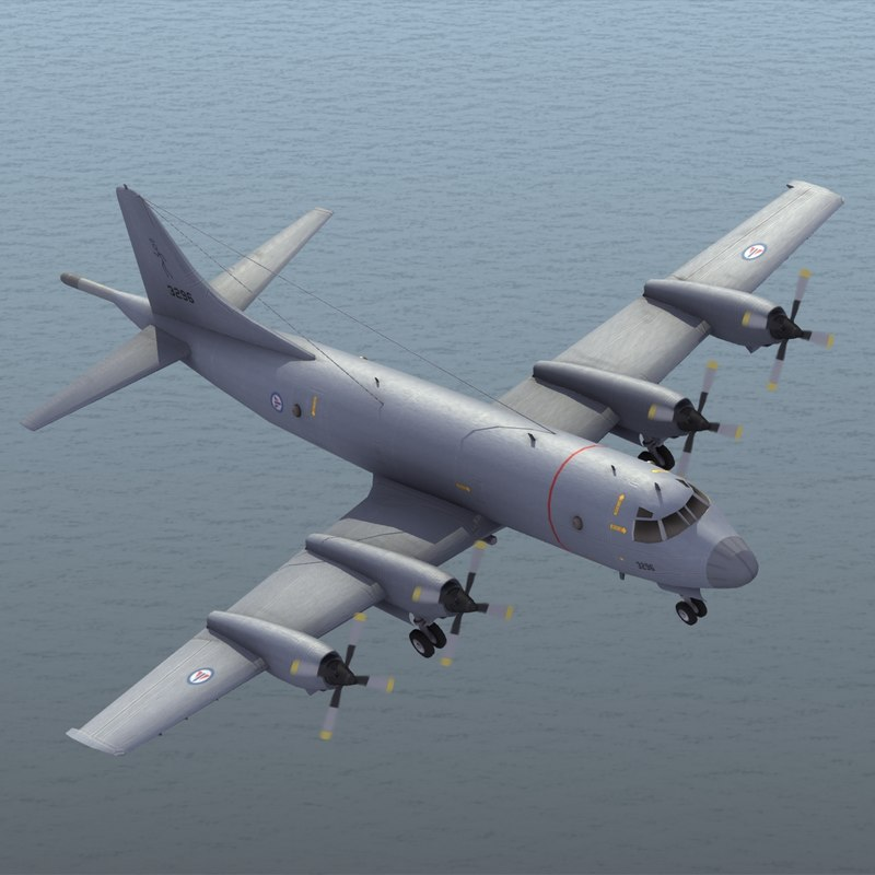 3d p-3 orion rnoaf model
