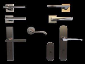3d model set handle