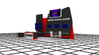 3ds sony exhibition stand design