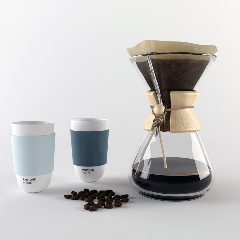 Chemex Manual Coffee Maker : chemex coffee maker 3d model