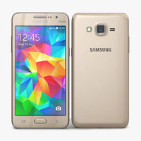 3d model samsung galaxy grand prime