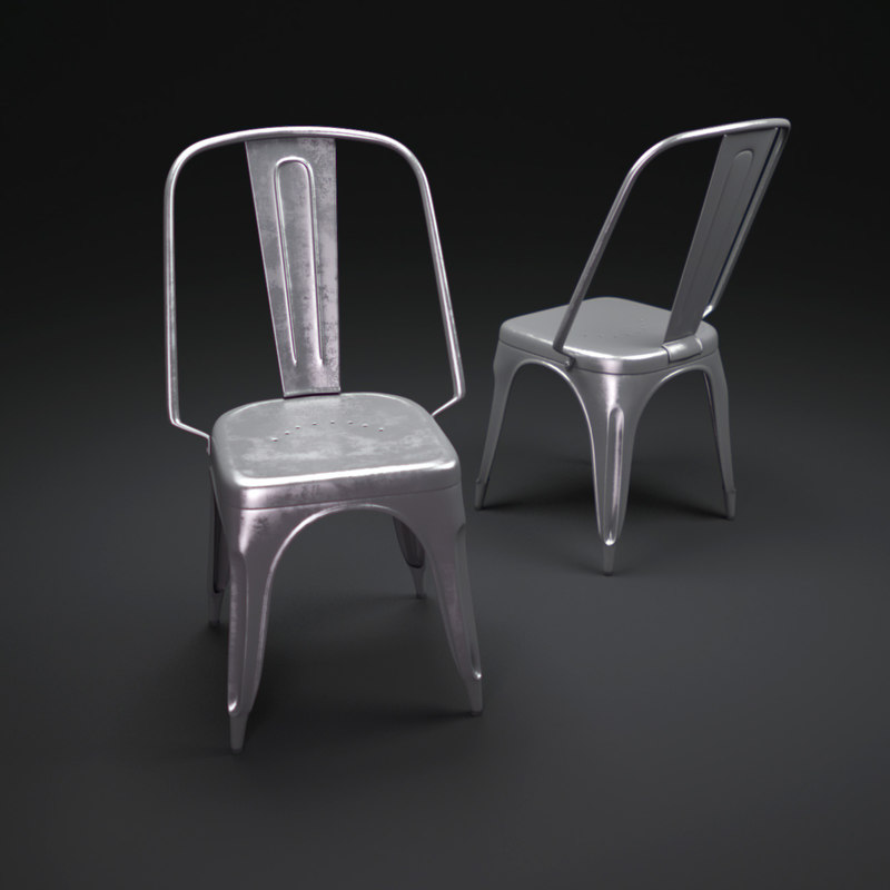 3ds max tolix-ac-chair