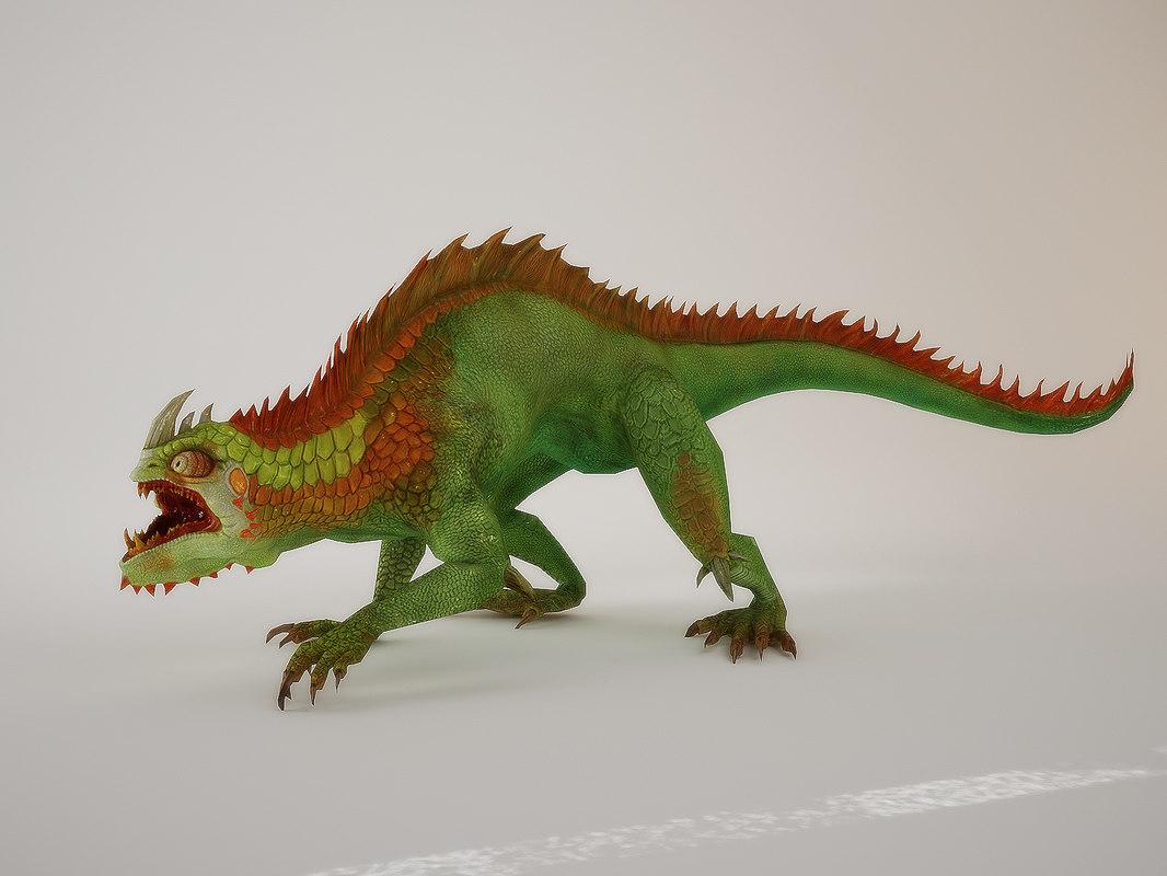 max fantasy lizards