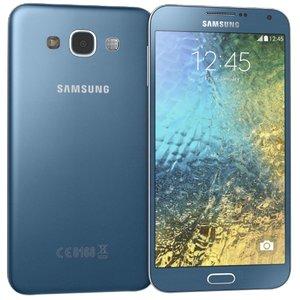 3d samsung galaxy e7 blue