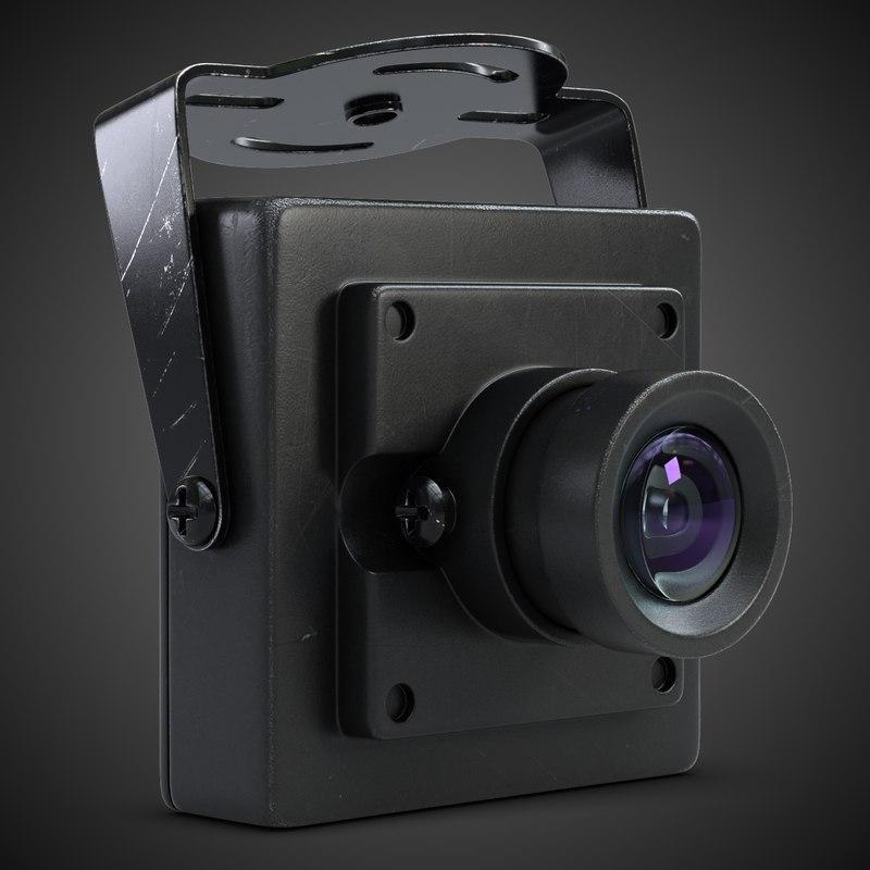 3d model camera hd 700l