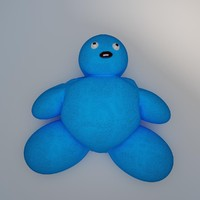 plush toy mimo 3d max