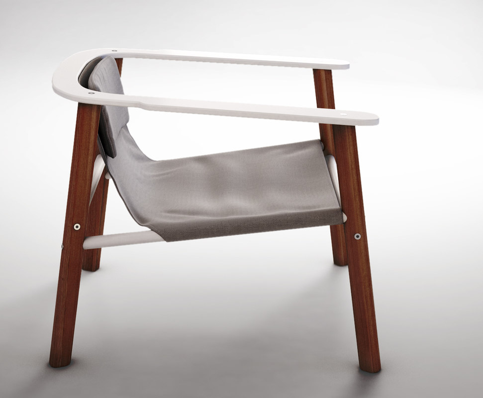 3d jardan roger armchair