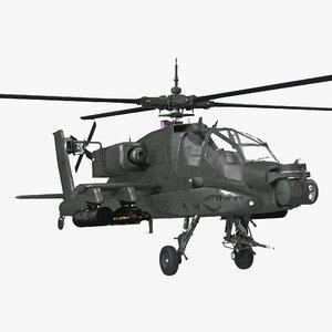 boeing ah-64 apache rigged 3d max