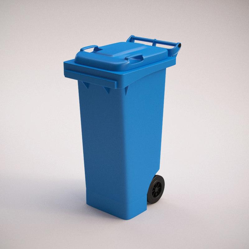 dumpster mgb80 3d max