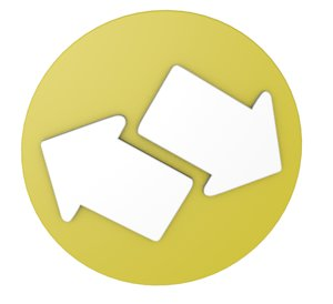3d arrows icon