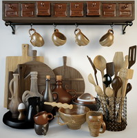 utensils jars tray max