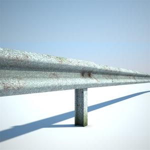 guard rail obj