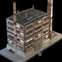 Abandoned Factory Building #149