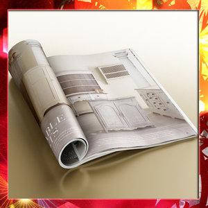 magazine 3d max
