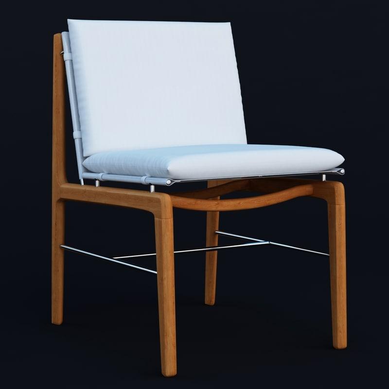 finn chair 3d obj