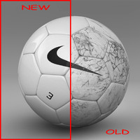 ball soccer white 3d model