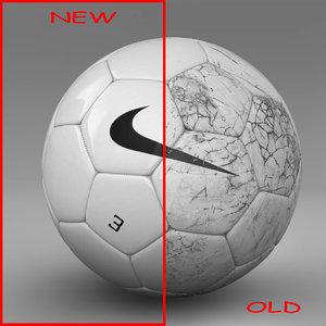 ball soccer white 3d model