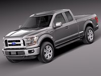 Ford F-150 Extended Cab 2015