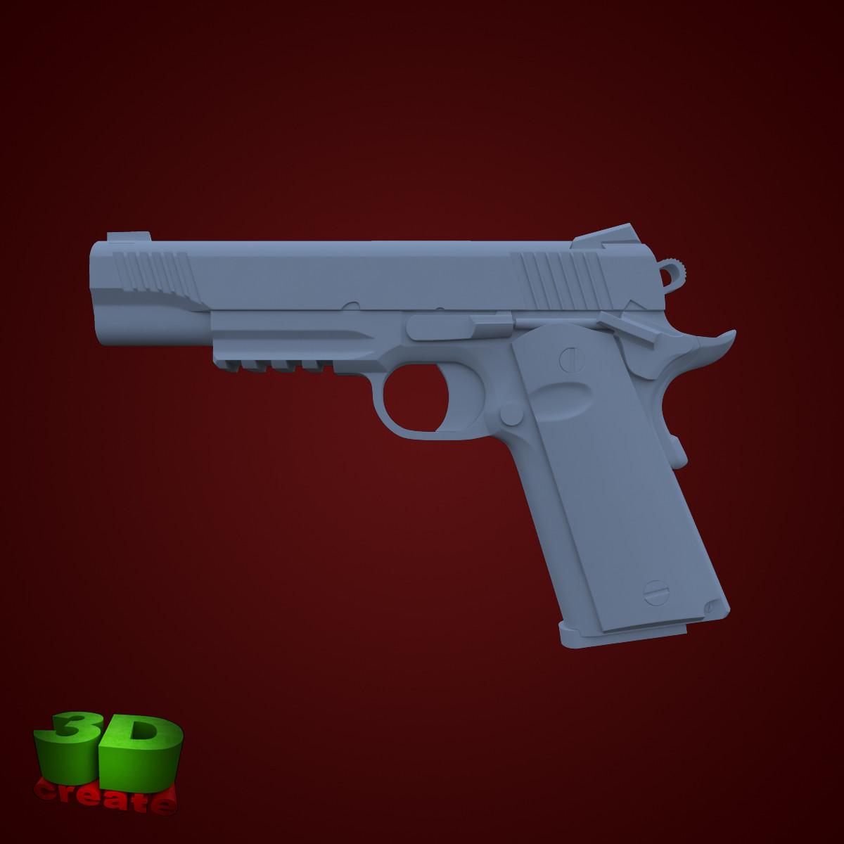 colt marine 3d model