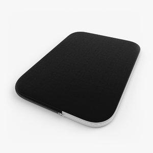 3d model etui laptop